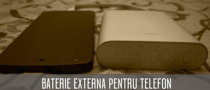 Cum se alege o baterie externa de telefon?