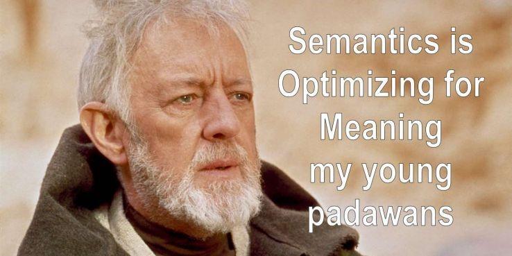 cautarea semantica reprezinta optimizarea sensului